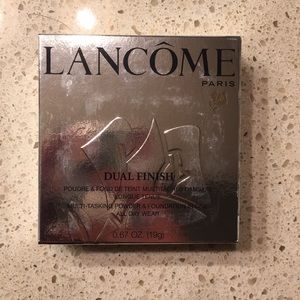 Lancome Brand New Dual Finish Foundation Powder